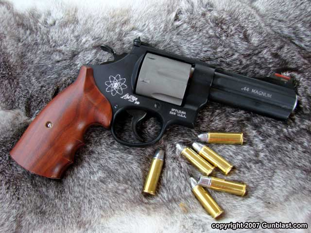 Smith & Wesson's 329PD  44 Magnum Lightweight Revolver