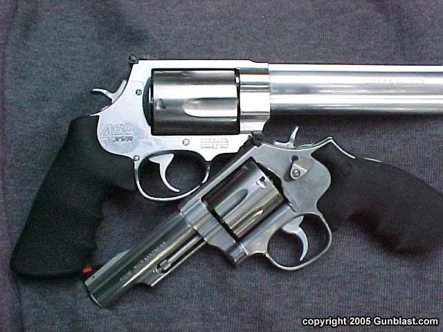 Smith & Wesson's  460 XVR Magnum Revolver