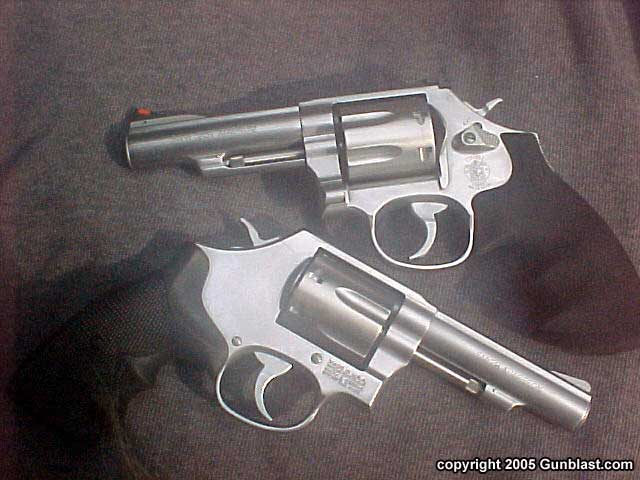 Smith & Wesson Models 619 and 620  357 Magnum Revolvers