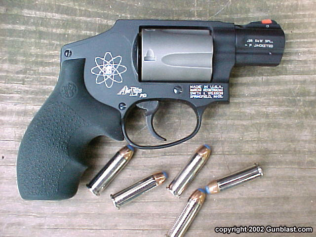 Smith & Wesson 342PD Titanium Centennial  38 Special +P