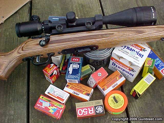 Savage Mark-II BV  22 Bolt Rifle with AccuTrigger