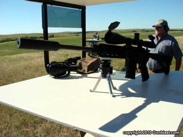Shooting Prairie Dogs with Target Shooting, Inc