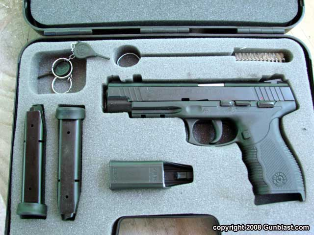 taurus  45 acp 24  7 oss auto pistol