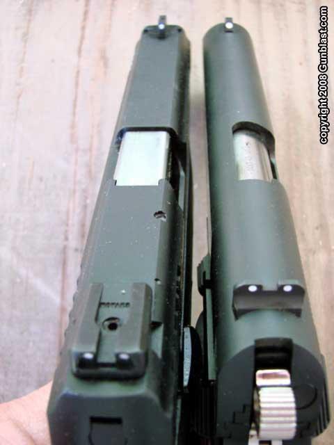 Taurus  45 ACP 24/7 OSS Auto Pistol