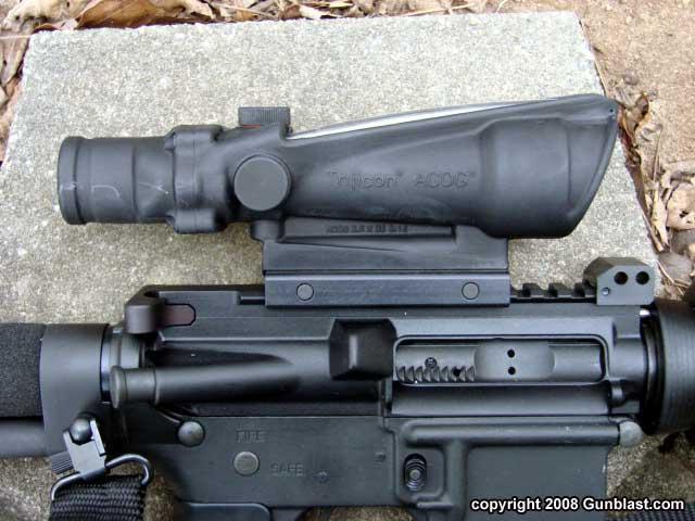 Ar15 type m16 quelle optique? M16 Acog