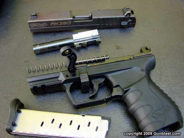 Walther Pk380 Semi Automatic 380 Acp Pistol