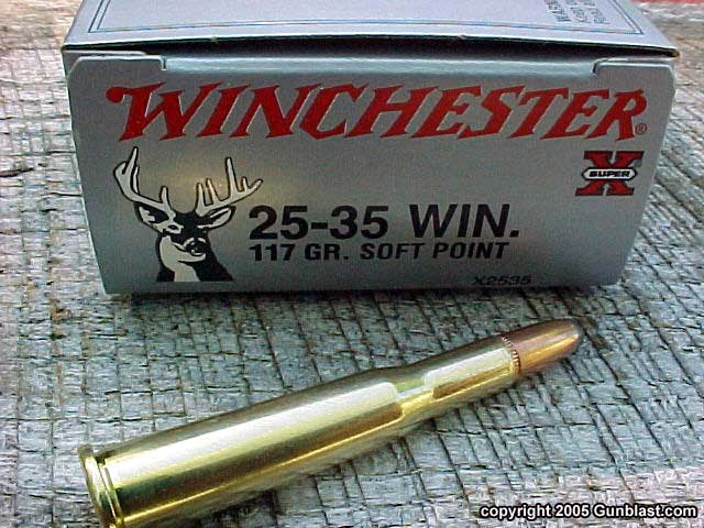 Image result for 25/35 winchester cartridge